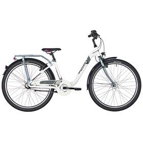 s'cool chiX 26 7-S Juniorcykel Børn alloy hvid
